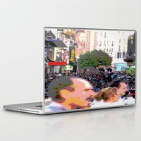 it crowd Laptop & iPad Skins featuring Crowd  by osile ignacio