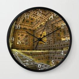 November City Wall Clock