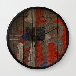 Art street, Napoli 2 Wall Clock
