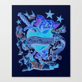 Heart Breakers Canvas Print