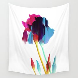 Glitches Iris Wall Tapestry
