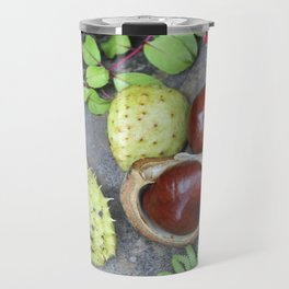 Conkers -horse chestnuts Travel Mug