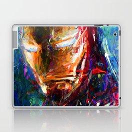 BRUSH STROKE IRONMAN Laptop & iPad Skin