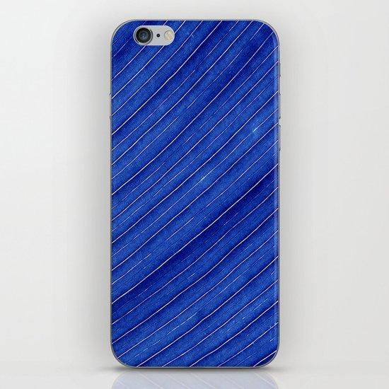 blue leaf II iPhone & iPod Skin