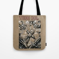 Voodoo Doll (Drawlloween 4/31) Tote Bag