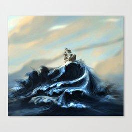 Ruff Seas Canvas Print