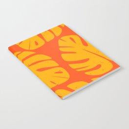Monstera Leaf Print 1 Notebook
