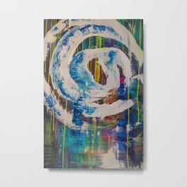 Spiraling out of control Metal Print