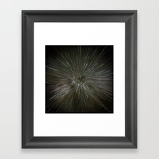 zooming towards stars Framed Art Print