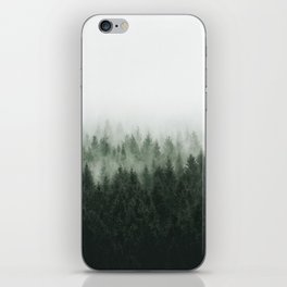 High And Low iPhone Skin