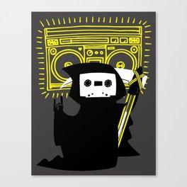 Death Mixtape Canvas Print