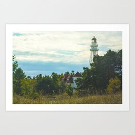 Discover (Rawley Point Lighthouse, Wisconsin) Art Print