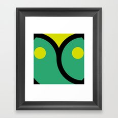 face 4 Framed Art Print