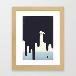 Save the Arctic Framed Art Print