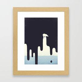 Save the Arctic Framed Art Print