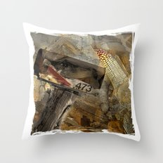Rural Route 473 Throw Pillow