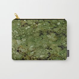 Green Camo Carry-All Pouch