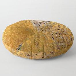 THE LADY IN GOLD - GUSTAV KLIMT Floor Pillow