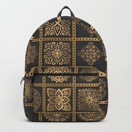 Copper Mandala Quilt Backpack