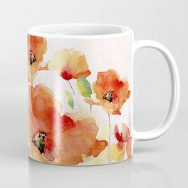 Beautiful Poppies #society6 Coffee Mug