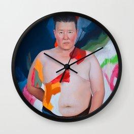 T. Chick McClure Wall Clock