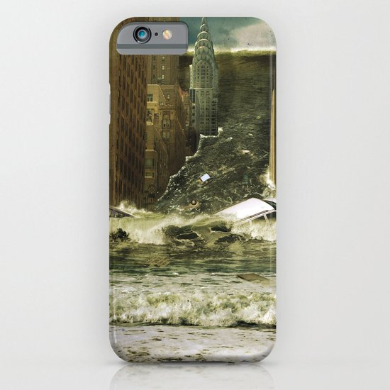 Water vs City iPhone & iPod Case