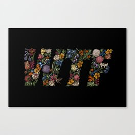 Water the Flowers Canvas Print
