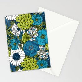 Vintage Florals Chrysanthemum Stationery Cards