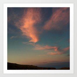 Sky Painting Art Print