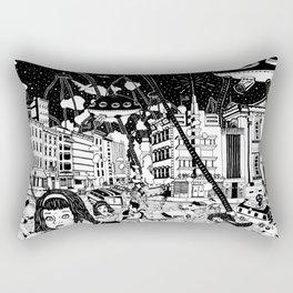 paranoia Rectangular Pillow