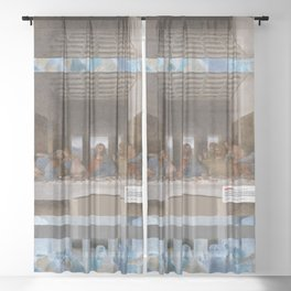 The Last Supper _review Sheer Curtain