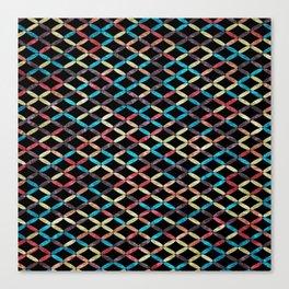 Colorful Geometric Pattern #03 Canvas Print