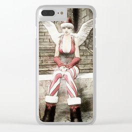 Happy christmas Clear iPhone Case