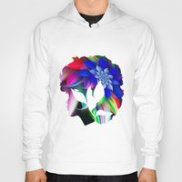 afro Hoodies featuring Afro by SmartyArt Chick