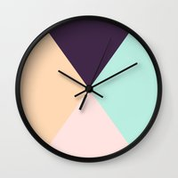focus Wall Clocks featuring FOCUS! by Roscoe