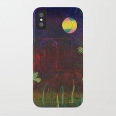 Moon Garden iPhone X Slim Case