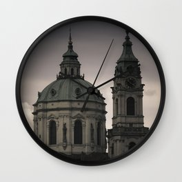 St. Nicholas Church Prague Wall Clock