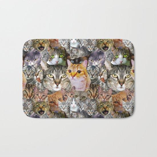 CATS!  Bath Mat