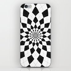 Black & White Argyle iPhone & iPod Skin