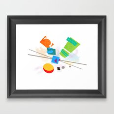 Rocko's Modern Art Framed Art Print