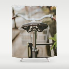 Brooks Bike in Gothenburg  Shower Curtain