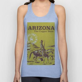 ARIZONA the copper state Unisex Tank Top