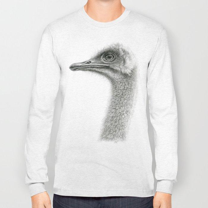 Cute Ostrich Profile SK054 Long Sleeve T-shirt