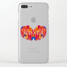 The Seven deadly Sins - WRATH Clear iPhone Case