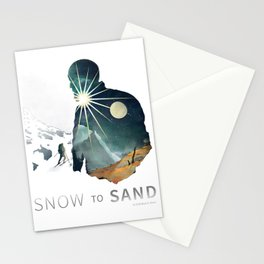 """Snow To Sand"" Official One-Sheet Poster Stationery Cards"