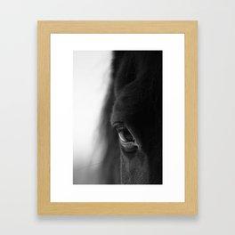 naked eyes Framed Art Print