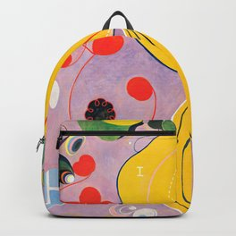 "Hilma af Klint ""The Ten Largest, No. 07, Adulthood, Group IV"" Backpack"