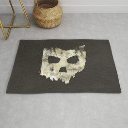 Ohio Skull Rug