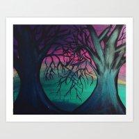 Love Intertwined Art Print