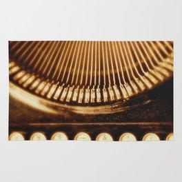 typewriter. Ink Slinger No.2 Rug